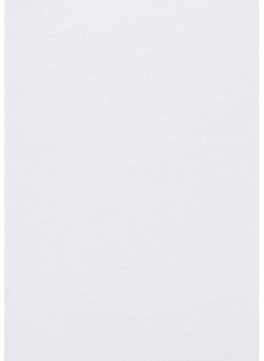 Mavi Kadın  V Yaka Tişört 162769-620 Beyaz